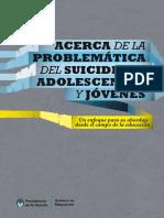 Acerca de La Problemática Del Suicidio de Adolescentes y Jóvenes