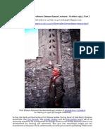 Chapple, R. M. 2014 Three Sides Live - Professor Etienne Rynne Lectures - October 1994 - Part I. Blogspot Post