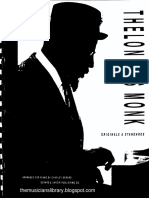 Thelonious Monk - Originals and standards - Piano.pdf