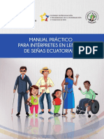 Manual de Interprete de Lengua de Senas Ecuatoriana