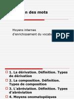 4 Formation Des Mots Prefixes