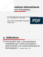 9 Expr Idiomatiques
