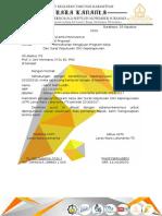 Surat Permohonan Pengajuan Program Kerja