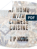 At Home With Chinese Cuisine - T P Hong