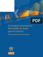 06.Formulación de Proyectos Financiables de Ayuda Para El Comercio. Documento de Orientación