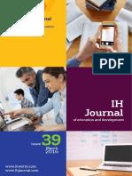 IH Journal 39