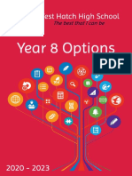 Year 8 Option Booklet -- 2019
