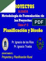 10.Metodología e Formulación de Los Proyectos Planificacion y Diseño