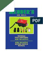 Manuale Dinstallazione - Installation Manual