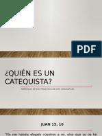 Quién Es Un Catequista