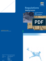 Fifa Doping Control Regulations
