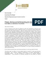 Roy Barreras responde al general Mora tras carta de militares con críticas a la JEP