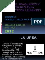Uso de Urea Gallinaza y Pollinaza en La
