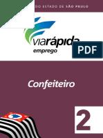 Viarapida GOVERNO de SP APOSTILA Confeiteiro