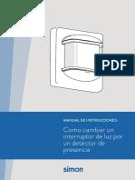 Manual Instrucciones Detector Presencia_Simon