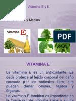 vitamina E y K