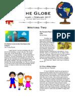 The Globe, January-February 2017