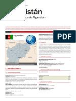 Afganistan Ficha Pais