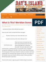 Meridian Stones