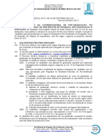 EDITAL (PROPP-RTR) n 92, de 26-10-2016.