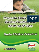 Proposta Curricular EF 6ºao 9º Ano - COMPLETA