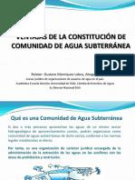 Pptventajas de La Constitución de Aguasgustavo Manriquez