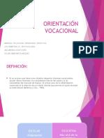 ORIENTACIÓN-VOCACIONAL