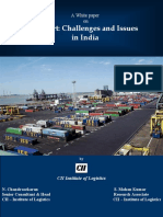 India Seaport Issues and Challenges