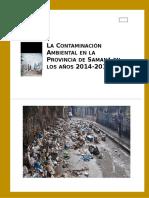 Trabajo Final Metodologia de La Investigacion La Contaminacion Manuel