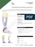 DAFO Floor Reaction Product Sheet