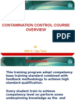 Contamination Control Learning Overview