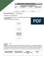BSA-DOPE-DP-80 Supervisor de Producción A