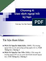 Chuong 4 Giao Dich Ngoai Hoi Ky Han Student