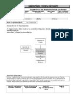 BSA-DOPE-DP-64 Supervisor de Productividad y Gestión