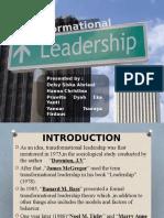 Trasformatioal Leadership - Kelompok 5