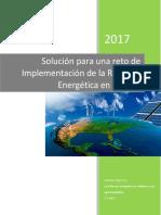 Solución Reto Implementación Ref. Energética