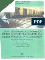 El Indispensable Compromisode Los Laicos en La Vida Públicade Los Países Latinoamericanos