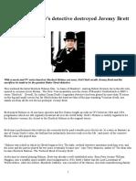 How Conan Doyle's Detective Destroyed Jeremy Brett