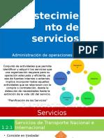 Abastecimiento de Servicios