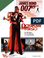 [VG35004] James Bond RPG - Adventure - Octopussy