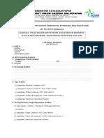 Formulir Laporan Insiden Instalasi Kesehatan Dan Keselamatan Kerja Rumah Sakit