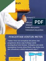 Venturimeter Dan Orificemeter