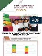 Informe Nacional de Rendimiento 2015