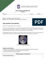 Texto Expositivo Sobre Geologia