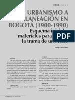 Dialnet-DelUrbanismoALaPlaneacionEnBogota19001990-4015392.pdf