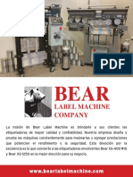 Bear Brochure Spanish Web