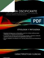 Fibroma Oscificante