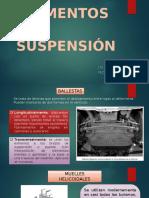 Elementos de Suspensión