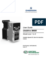 English Unidrive M400 UG Issue 60478-0044-06