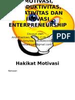 #Materi 4_motivasi Produktivitas Kreatiitas Dan Inovasi Dlm Enterpreneurship